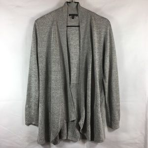 Eileen Fisher Marled Soft Drape Cardigan